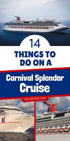 Carnival vacation tips on things to do while on a Carnival Splendor cruise. Plenty of dining options, fun and adventures onboard the ship. #cruise #cruises #cruisetravel #cruisevacation #carnivalcruise #carnivalsplendor #cruiseship #cruisetips
