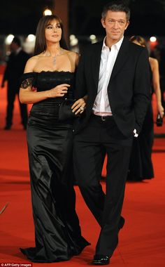 Monica Bellucci and Vincent Cassell