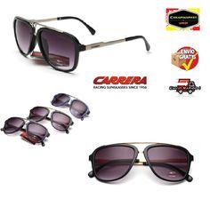 38e70fa17b Aviación gafas de sol hombre/mujer vintage CARRERA logs Conducción protec  UV400