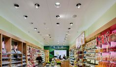 THE BODY SHOP,  Emmen, Switzerland. Luminous Flux, Energy Consumption, Accent Lighting, Led Technology, Light Art, The Body Shop, Interior Lighting, Case Study, Designer