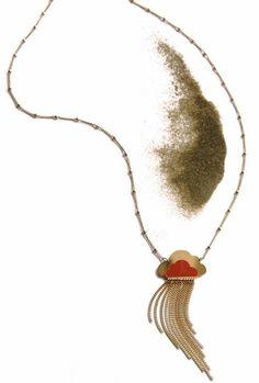 Sautoir raincloud - cloud necklace Jewels in Paris : Linapoum http://linapoum.bigcartel.com