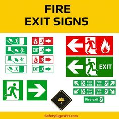 Looking for a reliable fire exit signage supplier in the Philippines? Evacuation Plan, Exit Sign, Signages, Philippines, Safety, Fire, Sun, How To Plan, Board