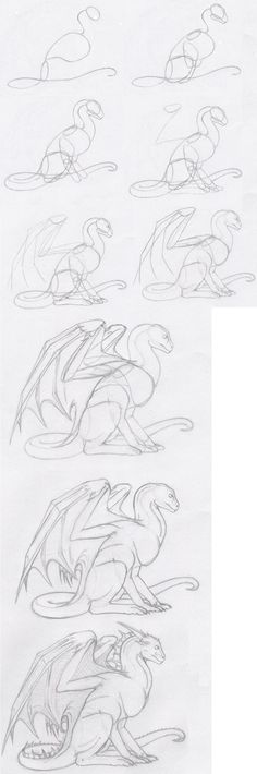 A tutorial on how to draw a dragonhead from the side. (This is part of a tutorial series.) Part One .... Part Three Part Four