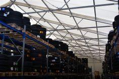 #Lagerzelte und #mobile #Lagerhallen von De Boer sind geeinget als I#ndustriehallen, #Gewerbehallen, #Produktionshallen, #Wartungshallen und vieles mehr.