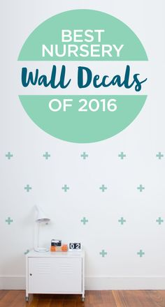 Temporary decor solutions like wall decals are such a good idea: they make redecorating easy as your kids get older and they are so attractive. Wall Decals Toddler, Baby Room Decals, Wall Decals For Bedroom, Wall Decor Stickers, Diy Wall Decor, Home Decor, Boy Toddler Bedroom, Baby Boy Rooms, Kids Rooms