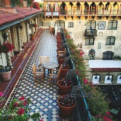 The Mission Inn Hotel & Spa brings rustic Spanish charm to California. Cruise the #California coast for some of America's most scenic waterside views. Photo by kirstenalana on Instagram.