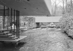 Fallingwater. 1936-9. Bear Run, Pennsylvania. Frank Lloyd Wright