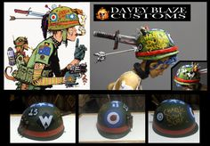 Custom Action figure of TANK GIRL! To see more of my Tank Girl character Custom Action F. TANK GIRL Custom Figures by Davey Blaze Customs! Tank Girl Cosplay, Girl Inspiration, Girl Costumes, Action Figures, Halloween, Cosplay Ideas, Kitsch, Comic, Deviantart