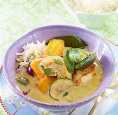 Das Rezept für Grünes Curry mit Huhn und weitere kostenlose Rezepte auf LECKER.de