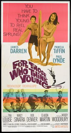 For Those Who Think Young (1964) starring James Darren, Pamela Tiffin & Paul Lynde