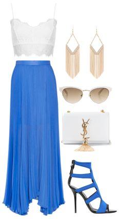 White + Cobalt Blue