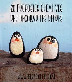20 propostes creatives per decorar les pedres