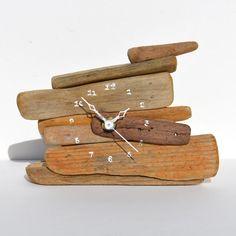 Driftwood Clock No. 7 - CoastalHome.co.uk: Driftwood