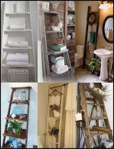 Ladder Repurposing