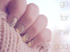 I like the chunky gold flakes