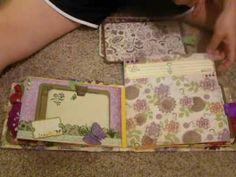 Family Mini Scrapbook Album