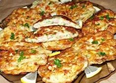Cooking delicious chicken cutlets in French. Czech Recipes, New Recipes, Dinner Recipes, Cooking Recipes, Easy Chicken Cutlet Recipes, Recipe Chicken, Chicken Cutlets, Yum Yum Chicken, Food Photo
