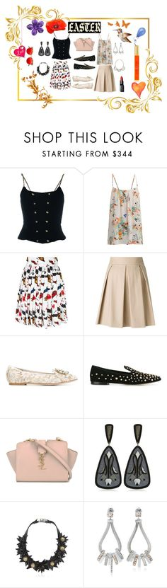"""""""Set your look..."""" by jamuna-kaalla ❤ liked on Polyvore featuring Chanel, Paul & Joe, Philipp Plein, Boutique Moschino, Dolce&Gabbana, Giuseppe Zanotti, Yves Saint Laurent, Anna e Alex, Moutton colleT and LedaOtto"""