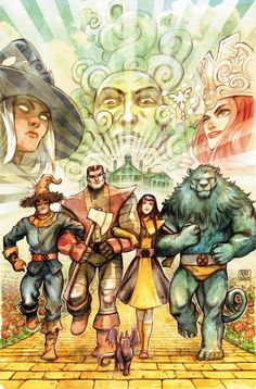 Wizard of Oz/X-Men Mash-Up.