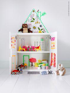 Ikea poppenhuis van de Stuva kast