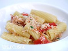 Pasta con pesce e pomodori – unser Lieblings-Familiengericht mit Fisch!