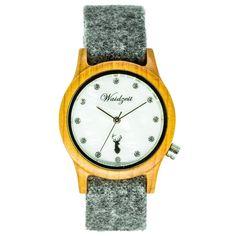 Hodinky Alpin Dolomiten - Unikátne drevené hodinky - www.waidzeit.sk Ale, Watches, Leather, Accessories, Wristwatches, Ale Beer, Clocks, Ales, Beer