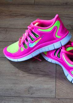 hot pink free runs 5.0