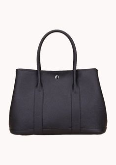 New Popular 37CM Tote Bag Calfskin Leather Black