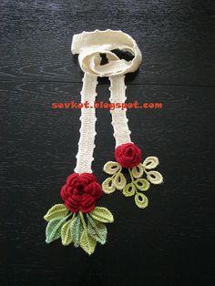 Ravelry: sevkut's Rosy red scarf