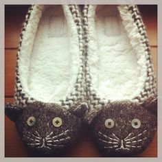 My new cat slippers (Next)...no link......I would like to make these out of old wool sweater