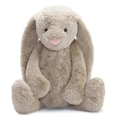 "Amazon.com: Jellycat Bashful Beige Bunny, Medium - 12"": Toys & Games"