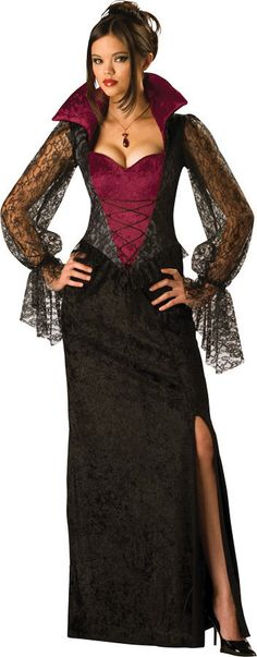 Vampiress Adult Women's Vampire Costume Dress IC11001 #Dress