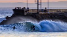 (See T-Shirt Pin) #CAsSurf | Santa Barbara Harbor, California - Photo: Jeremiah Klein