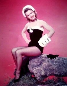 Debbie Reynolds is ready to dance this holiday season!