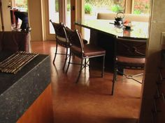 Kitchen? - Like the tile look Concrete Floors Commercial Concrete ...