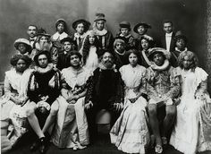 An all black casting of Shakespeare at Howard University, 1937