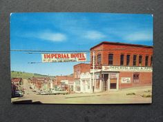 1950s Cripple Creek Colorado Street Scene Postcard