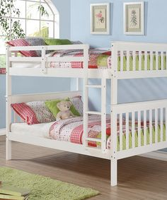 This Full Mission Bunk Bed by Donco Kids is perfect! #zulilyfinds