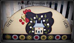 Sweet design by Terrye French/Deb Antonick handpainted by me.....:)