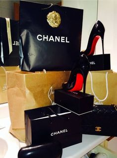 Chanel and Louboutin. A girl can dream!