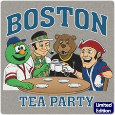 Boston Tea Party Design. Most people know some historical facts about Boston but everyone knows about the Boston Tea Party! It not only started the American Revolution, and ultimately our country; it also made some Dirty Water!  http://www.chowdaheadz.com/boston-tea-party.html