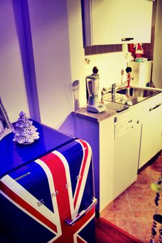 Smeg unionjack kitchen