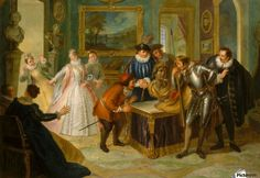Don Quixote Consults the Enchanted Head at the House of Don Antonio Moreno - Charles-Antoine Coypel