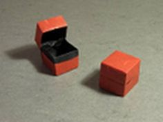 Origami Instructions: Box and Lid (Dave Brill) Wowzers...that thing is cool...really who thinks of these things...I don't mean the idea to make it but to actually figure it out...amazing!