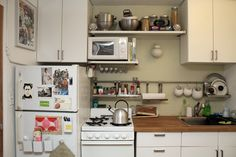 tiny kitchen ideas from AT house tour