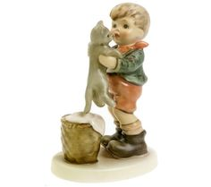 Shop today for Hummel figurine Kitty Kisses NEW 4.25 inches HUM 2033 Never Removed From Box