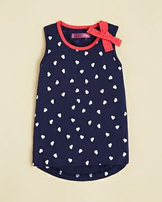 Aqua Girls Heart Tank with Bow http://rstyle.me/~1fzFT