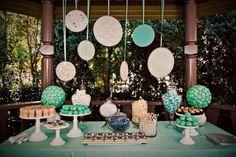 festa simples azul turquesa 15 anos