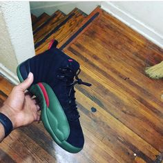 """Air Jordan 12 """"Gucci Customs"""""""