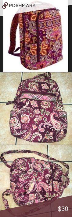 Vera Bradley❤️ NWOT! No damage no stains all zippers work!!! Vera Bradley Bags Backpacks
